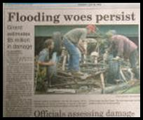 Flooding woes persist